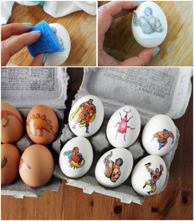 Как украсить яйца на Пасху, чтобы было «не как у всех» - 28 идей - 7