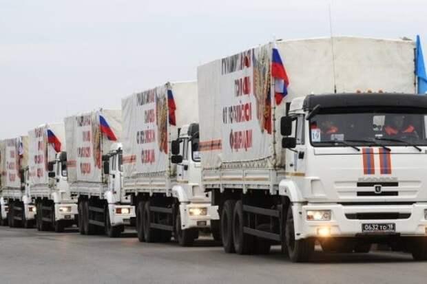 МЧС готовит «посевной» гумконвой для Донбасса