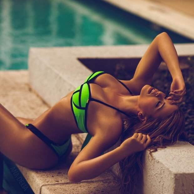 Восхитительная Испанка Ana Delia De Iturrondo, девушки, испания, модель, спорт, фитнес
