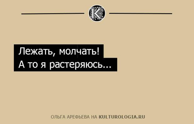 20 ироничных одностиший Ольги Арефьевой об отношениях полов