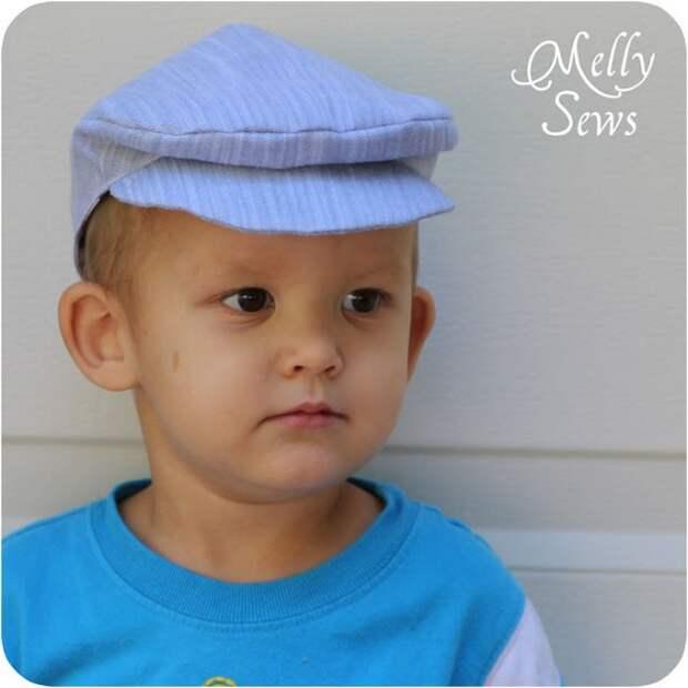картинка как сшить кепку для мальчика своими руками