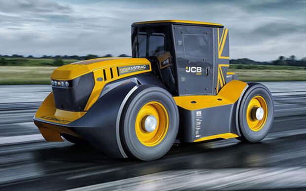 Трактор-«лихач» установил мировой рекорд