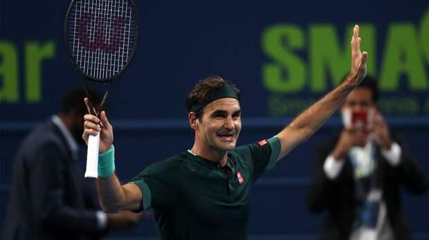 Федерер c победы стартовал в Дохе. Это его первый турнир с января 2020 года