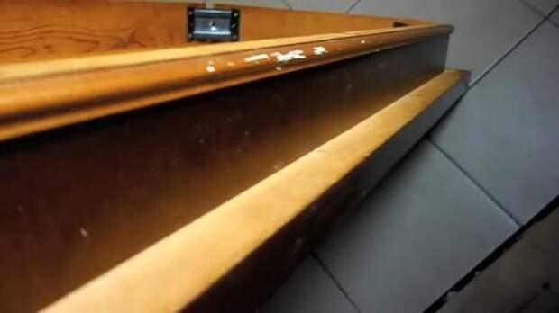 Переделка старого стола