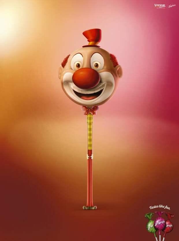 Clown, BaBoom, Escala, Porto Alegre, Печатная реклама