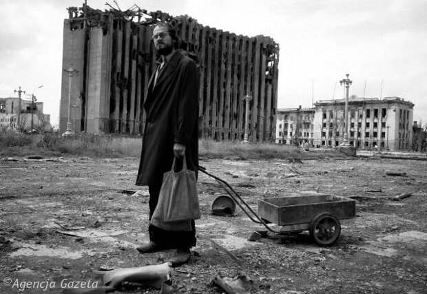 Чечня, 1995, фотографии Кшиштофа Миллера