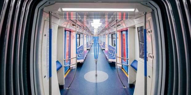 Тематический поезд «Город образования» запущен в Московском метрополитене. Фото: mos.ru