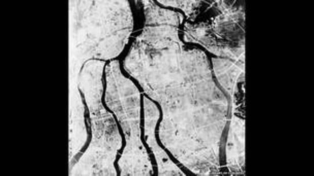 Ядерный взрыв над Хиросимой, Библиотека Конгресса США.