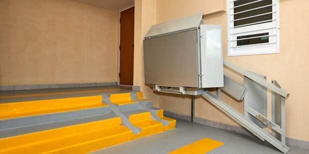 В доме на Вересковой появится платформа для маломобильных граждан