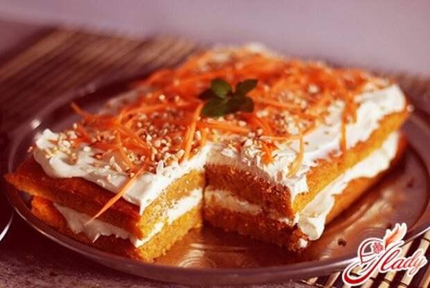 Морковный торт: оригинальные рецепты полезного десерта