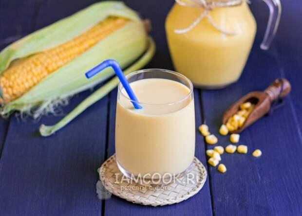 Фото кукурузного молока