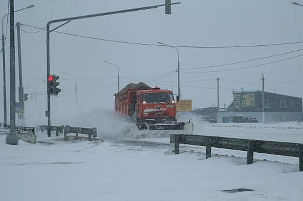 На Москву надвигается буран