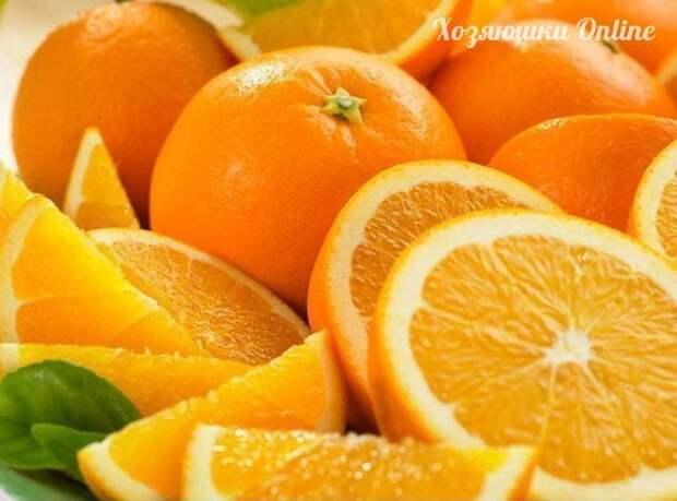 Апельсин – к здоровью трамплин