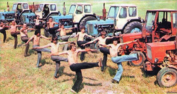 Каким был фитнес в СССР