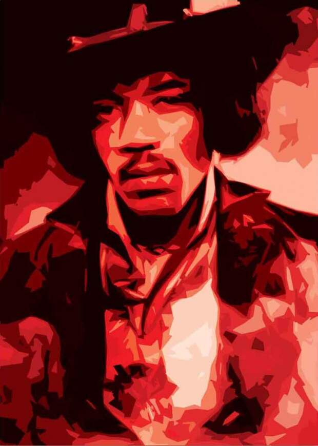 У нас в гостях Jimi Hendrix - Человек,упавший с небес