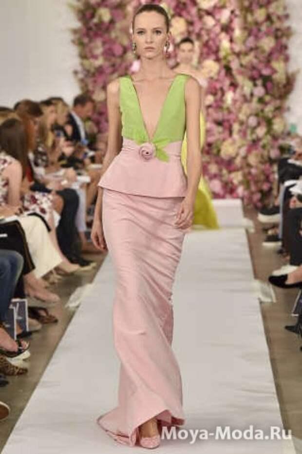 Модные юбки весна-лето Oscar de la Renta
