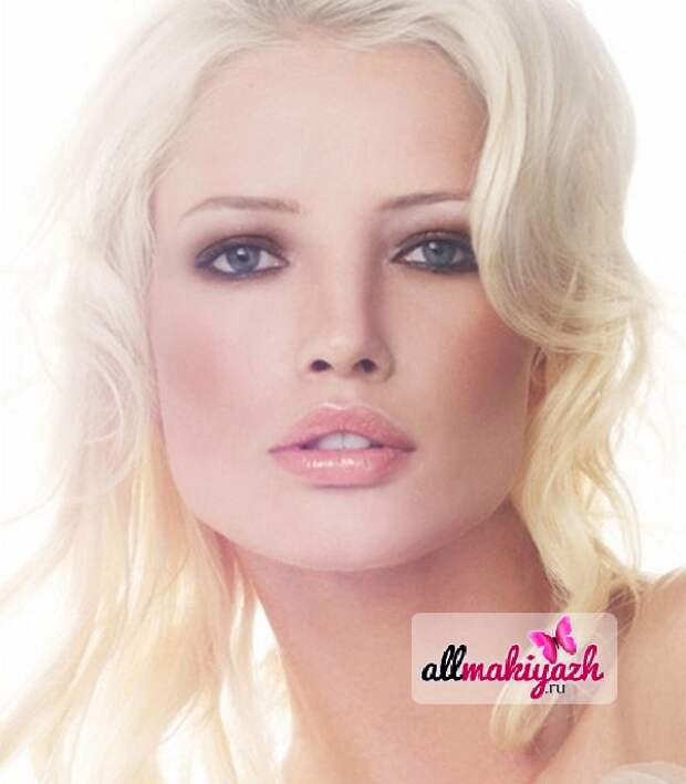 4 Дневной макияж для блондинок или как выглядеть хрупкой и нежной