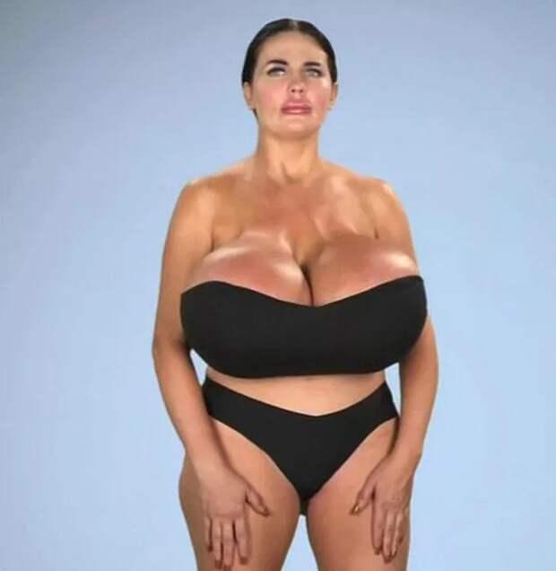 «Хочу идеальные песочные часы»: модель с гигантской грудью хочет увеличить ягодицы