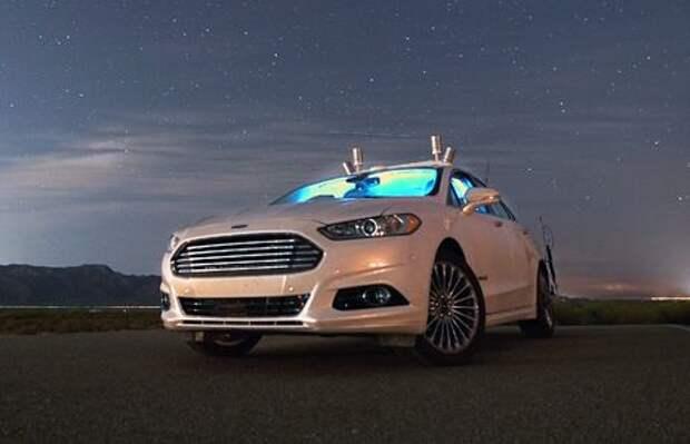 Беспилотник Ford научился ориентироваться во тьме