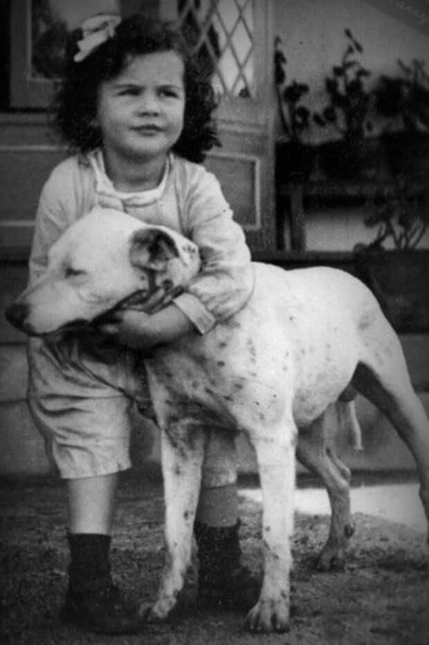Вивьен Ли в детстве
