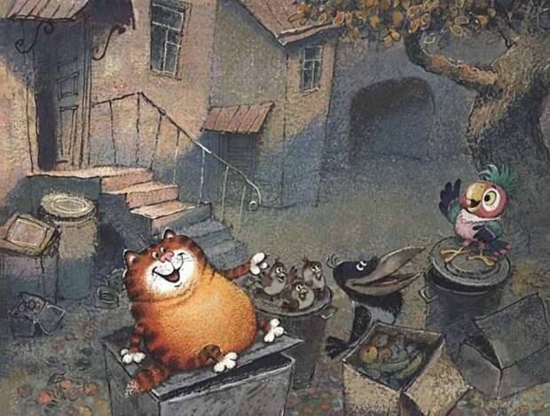 Как выглядели рабочие эскизы к советским мультфильмам эскизы, мультфильмы