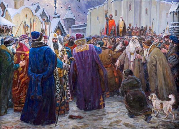 «Русь в красе заплаканной и древней». Древняя Русь в картинах Сергея Рубцова.