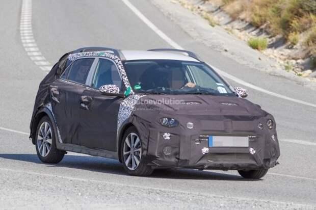 Европейская версия Hyundai i20 Cross