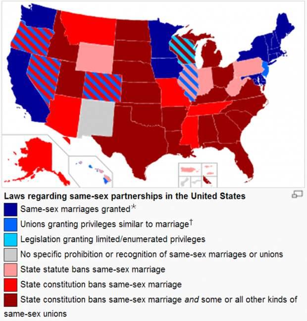 Группы ненависти в США