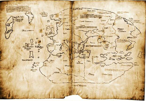Карта Винланда