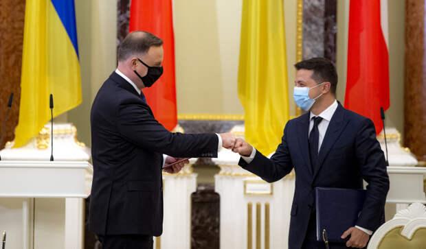 Президент Украины Владимир Зеленский прибыл в Польшу для того, чтобы вместе со своими коллегами...