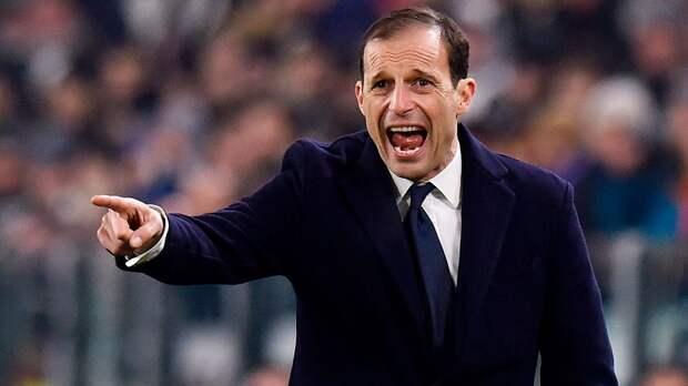 Аллегри был замечен в Турине. Его называют основным кандидатом на пост главного тренера «Ювентуса»