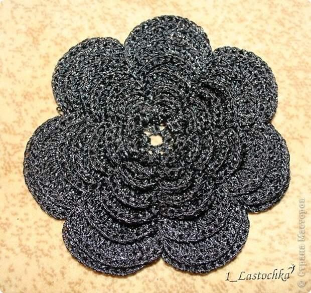 Вязание крючком - Сумочка-цеток