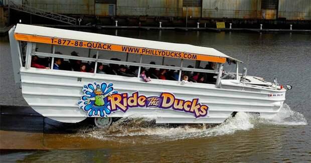 Экскурсионный автобус-амфибия Duck Boat