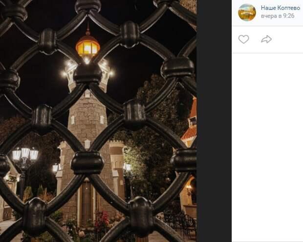 Фото дня: огни вечерней «Бригантины»