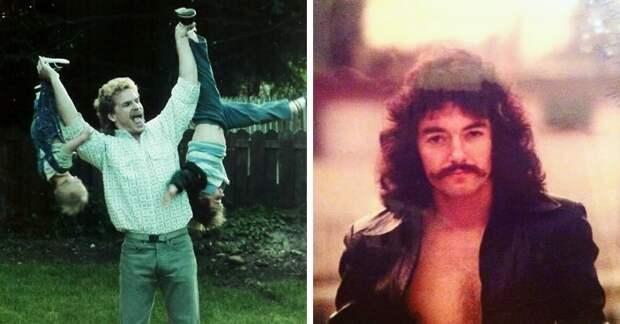 Парень создал страничку в Инстаграме, где собирает снимки отцов из 70-80-х годов