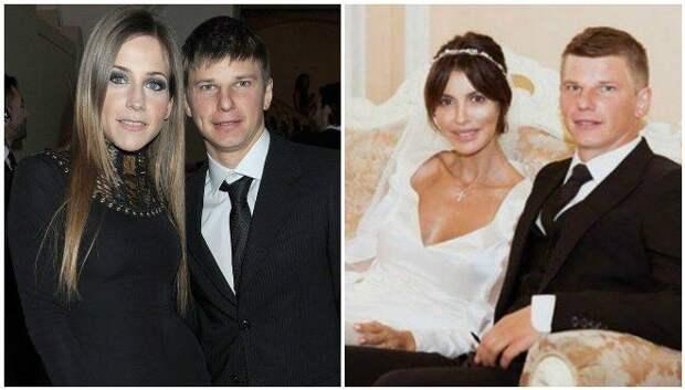 Юлия Барановская, Андрей Аршавин и Алиса Казьмина