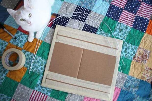 424 Как сделать дом для кота