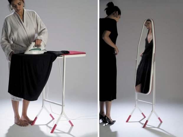 Гладильная доска — зеркало жизнь, изобретения