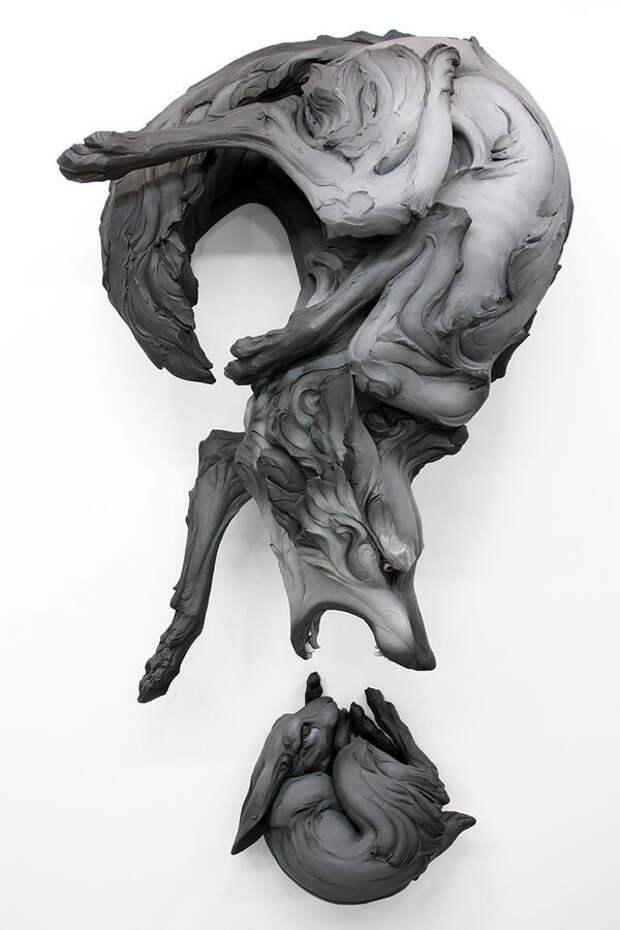 Уникальные скульптуры животных, вдохновленные темнотой в душе каждого человека