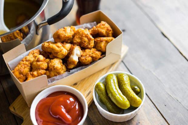 Рецепт хрустящего «попкорна» из курицы. Мне кажется, я всегда хотел приготовить подобное!