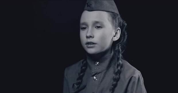 Эта девочка спела культовую песню о Великой Отечественной войне. Слова, которые узнает каждый…
