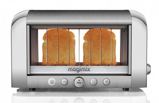 Прозрачный тостер жизнь, изобретения