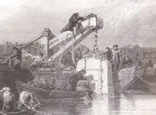 Разграбление кораблей велось еще с давних времен.
