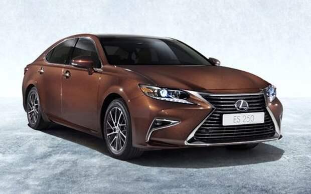 Lexus отзывает две модели в России из-за проблем с ABS