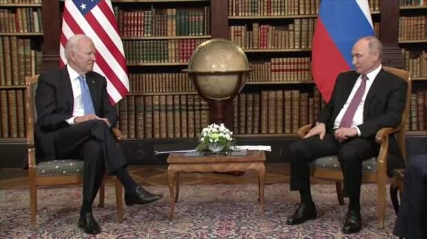 NYT: Путин на встрече в Женеве жёстко «отмёл» важнейший для Байдена момент переговоров