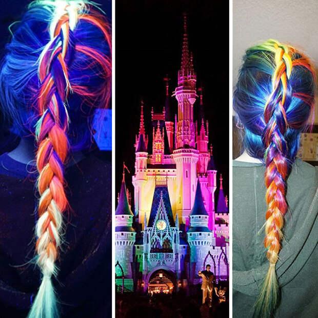 6.  вечеринка, волосы, краска для волос