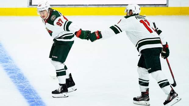 Капризов — о победном голе в дебютной игре НХЛ: «На моем месте мог быть кто-то другой. Это стечение обстоятельств»