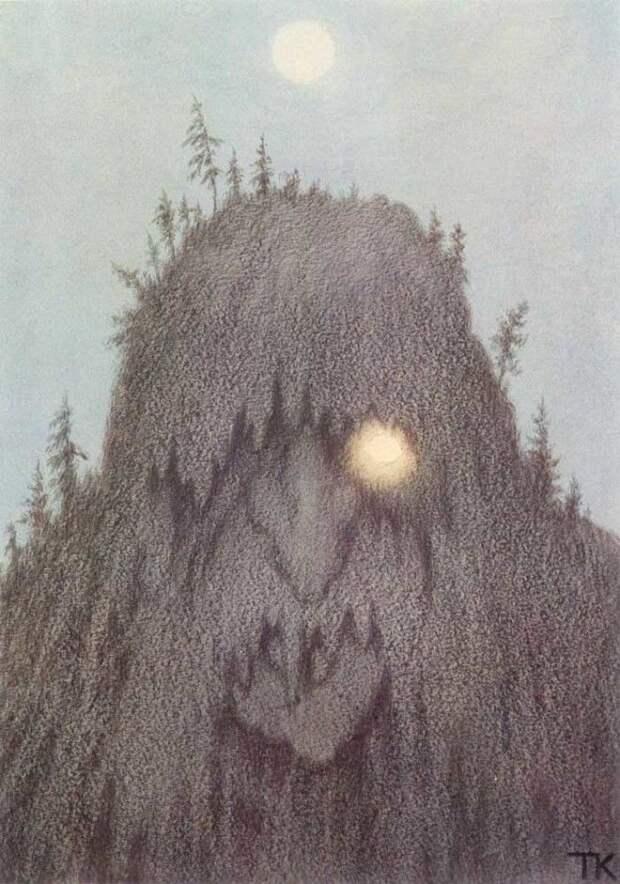 История Киттельсена самого загадочного и мрачного художника Норвегии