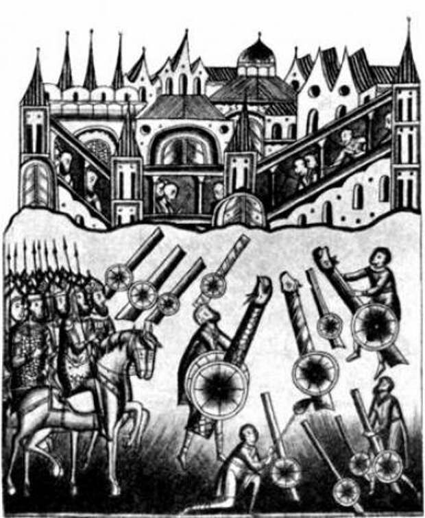 Саперы Ивана Грозного при штурме Казани 1552 года