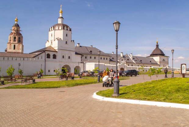 Единственный островной город на Волге. Свияжск